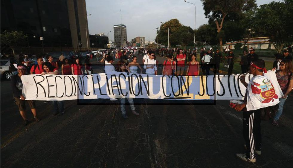 Marcha contra indulto