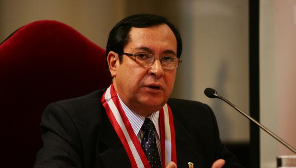 """Victor Prado Saldarriaga precisó que la sentencia contra Edwin Donayre """"debe cumplirse salvo que el juez decida suspenderla"""". (Foto: GEC)"""