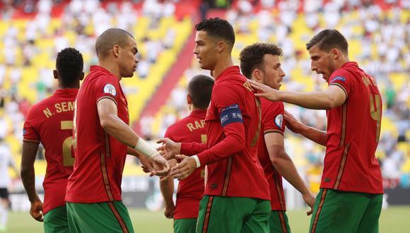 Portugal perdió por 4-2 ante Alemania por Eurocopa 2021. (Foto: REUTERS)