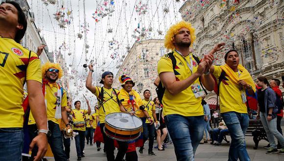Colombia enfrentará a Inglaterra buscando su pase a los cuartos de final de Rusia 2018. (Foto: Referencial/AFP)