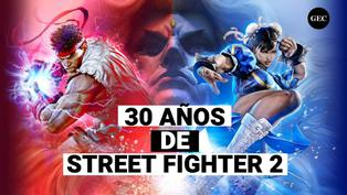 Street Fighter 2 the world warrior cumple 30 años