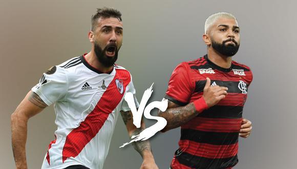River o Flamengo: uno de los dos será el mejor de América. (GETTY)