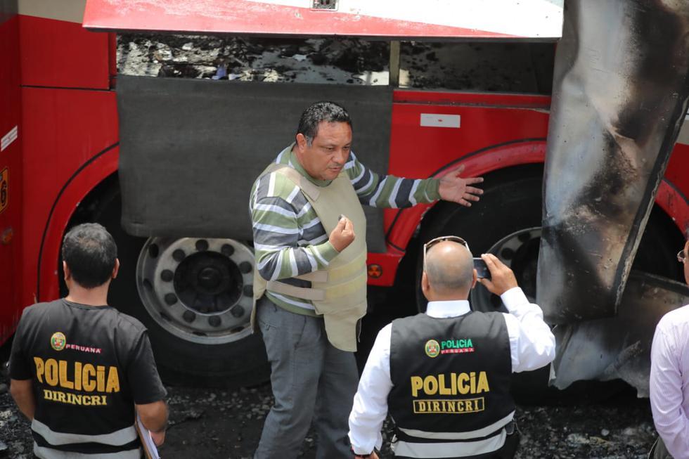 Piloto y copiloto del ex terminal de Fiori afirman que no había terramozas en el bus siniestrado. (Giancarlo Ávila / GEC)