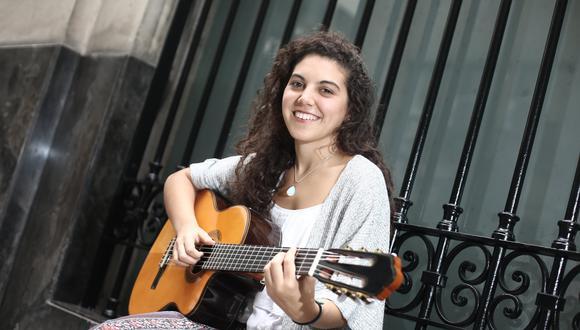 Lorena Blume tocará temas de su primer álbum en el Microteatro de Barranco (César Campos/Perú21).