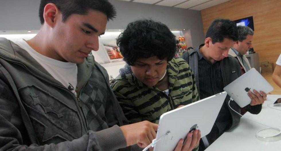 Alumnos de la UPC deberán tener un iPad para poder estudiar. (USI)