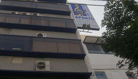 Apdayc fue sancionado por irregularidades en reparto de regalías, según Indecopi. (USI)