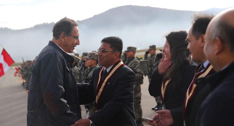 Vizcarra dijo que respeta las decisiones que tome el Congreso (Presidencia).