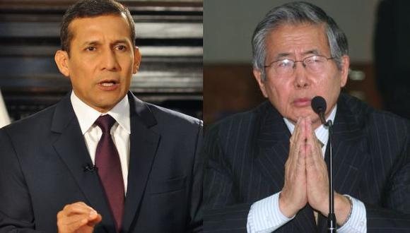 """Humala dijo que en su decisión sobre indulto a Fujimori pondrá por delante el """"interés nacional"""". (USI)"""
