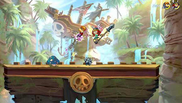 Ya pueden registrarse para ser los primeros en probar el juego de peleas y plataformas en su versión completa para móviles. (Facebook)