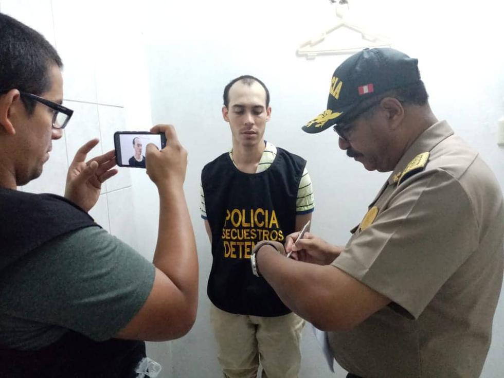 Capturan a banda de delincuentes extranjeros que tenían secuestrado a empresario. (PNP)