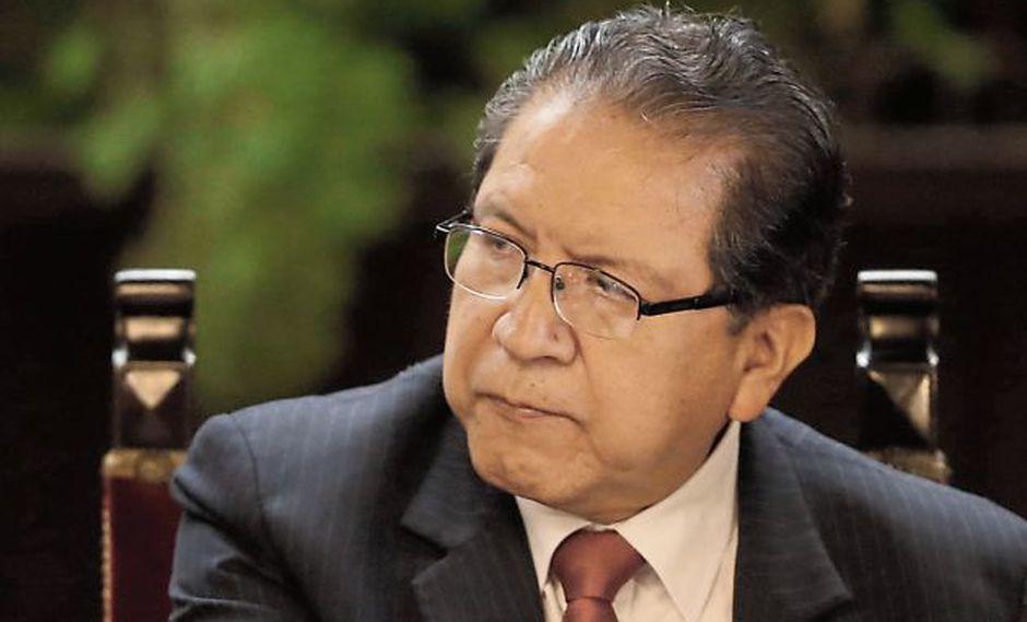 Pablo Sánchez: Abogado del fiscal de la Nación afirma que envió descargo de Subcomisión de Acusaciones. (MarioZapata/Perú21)