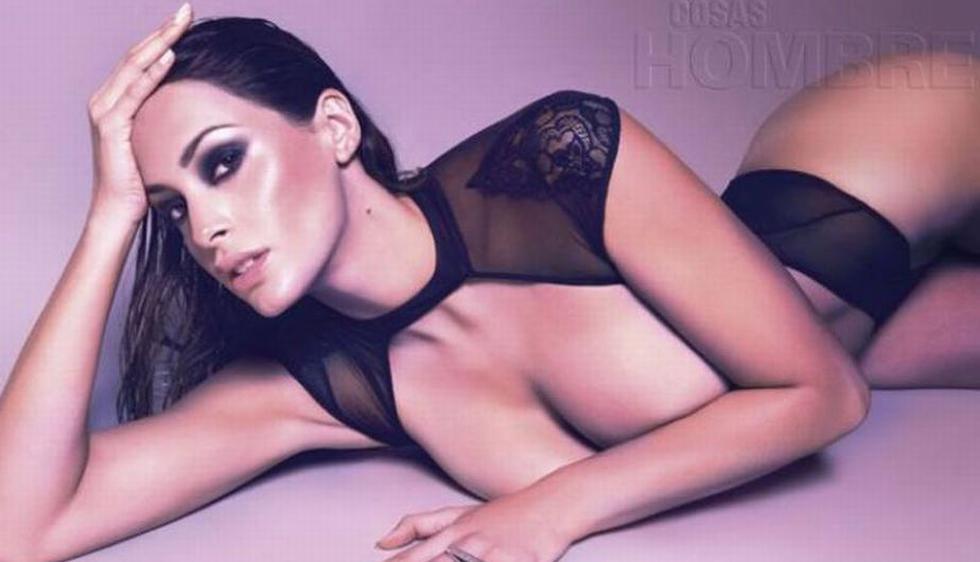 Milett Figueroa protagonizó una sesión de fotos para la revista Cosas Hombre. (Facebook)