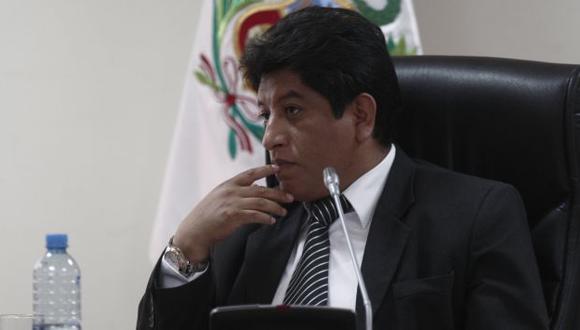 Josué Gutiérrez retrocedió en censura porque quedó en evidencia, según congresista Díaz Dios. (Nancy Dueñas)