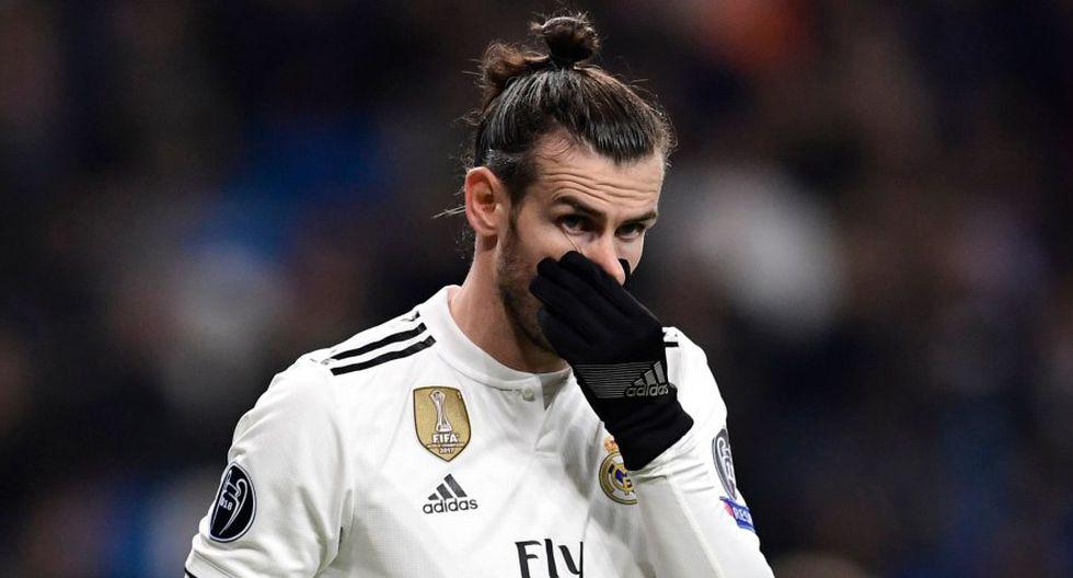 Gareth Bale está lesionado a pocos días del debut en el Mundial de Clubes (Foto: AFP).