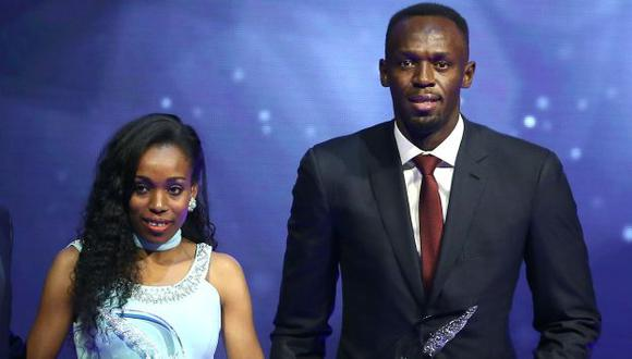 El velocista Usain Bolt y la deportista etíope Almaz Ayana fueron elegidos como los Atletas del Año. (Reuters)