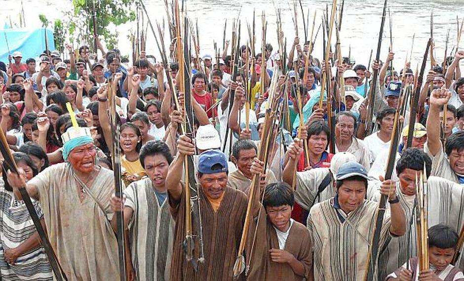 Nativos levantaron bloqueo del aeropuerto de Andoas en Loreto. (USI/Referencial)
