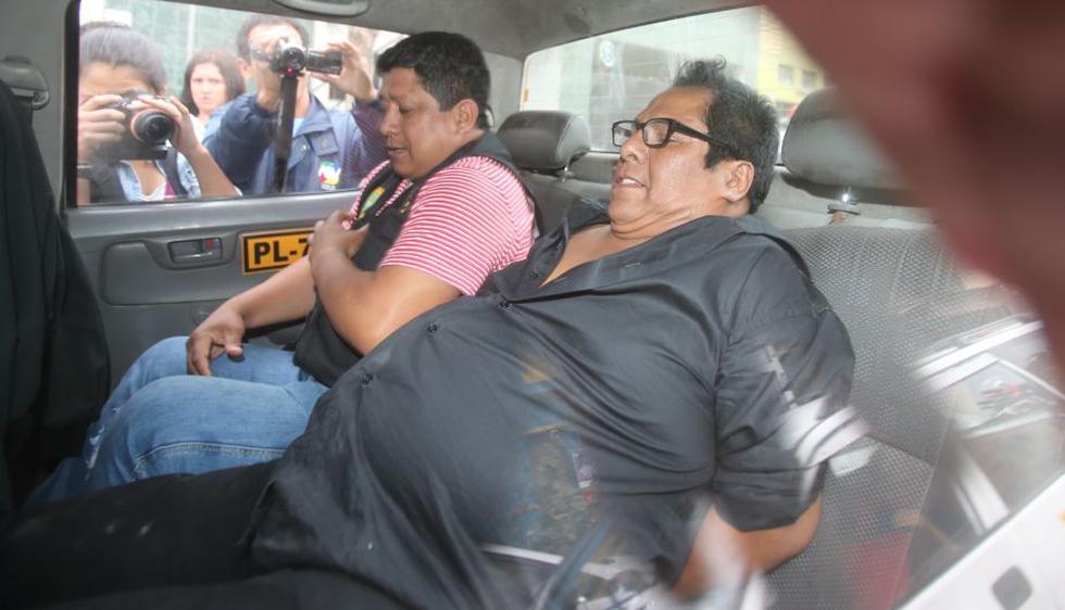 'Cachuca', líder de 'Los Mojarras', fue detenido en La Victoria por conducir en estado de ebriedad. (Joseph Ángeles/Trome)