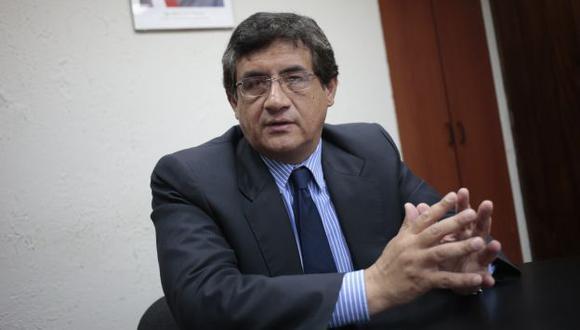 Juan Sheput opinó sobre voto de confianza. (César Fajardo)