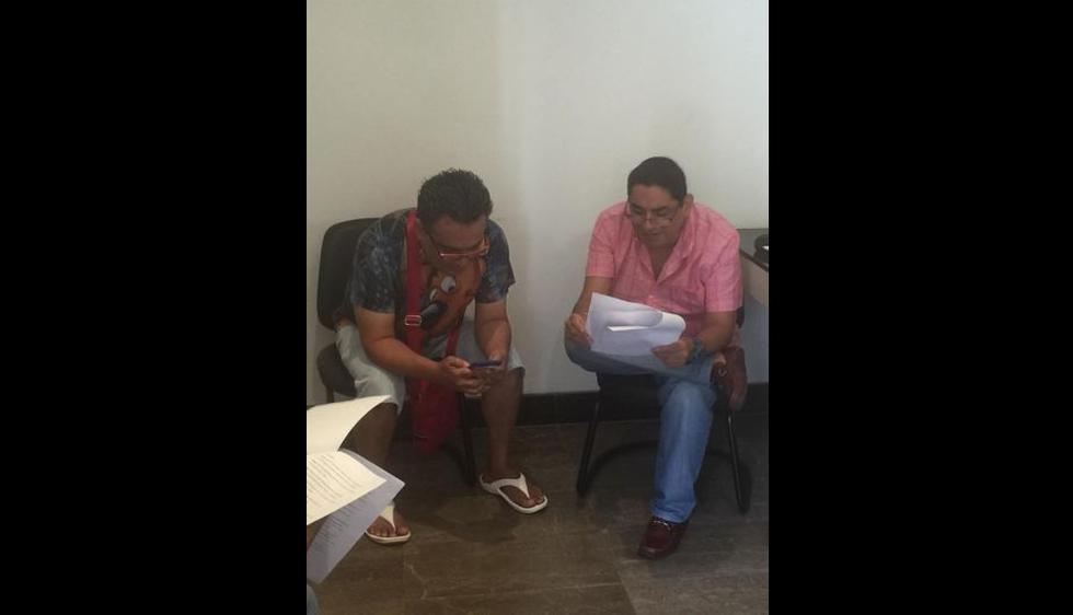 Jorge Benavides y Carloz Álvarez juntos de nuevo. (Facebook JB Jorge Benavides)