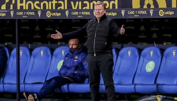 Ronald Koeman llegó a Barcelona a mediados de este 2020. (Foto: AP)