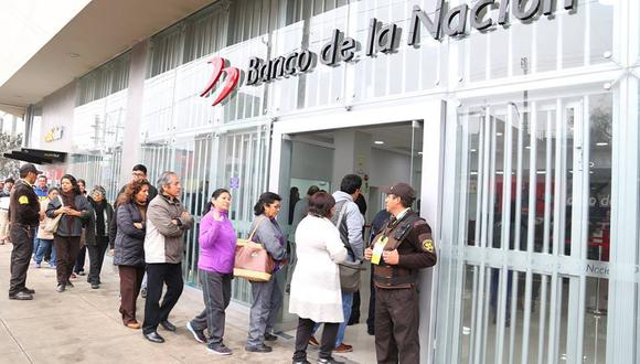 El aguinaldo asciende a S/ 300. (Foto: Facebook - Banco de la Nación)