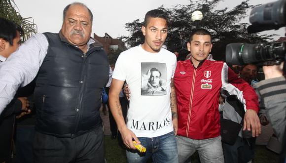 LE PONE FE. Paolo debe entrenar hoy a la par con el plantel. (Leo Fernández/USI)