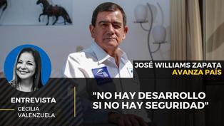 José Williams Zapata candidato al Congreso por Avanza País