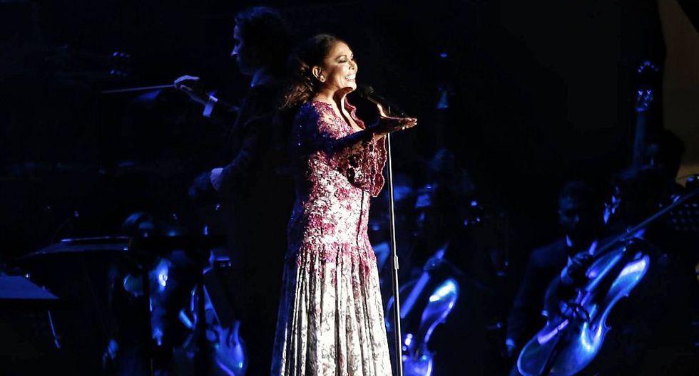 Isabel Pantoja: Así se vivió el concierto de la cantante española en Lima. (Renzo Salazar)