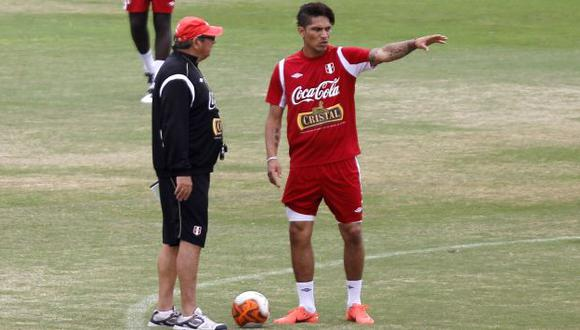 Mira al rival. 'Mago' imagina un duro choque con Uruguay. (USI)