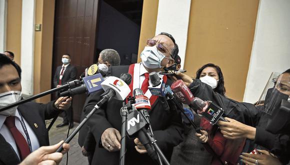 La cuestionada gestión de Edgar Alarcón como contralor podrían afectar también su permanencia como congresista (Joel Alonzo/GEC).