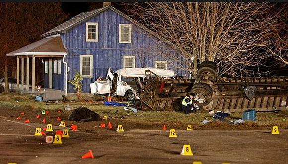 El accidente se produjo en la ciudad de Stratford. (CBC/Canal 4)