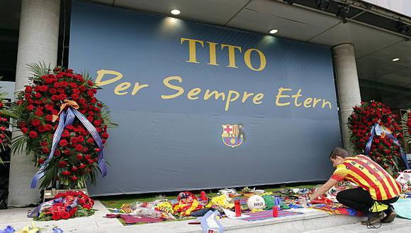 Tito Vilanova fue enterrado en su natal Girona. (Reuters)