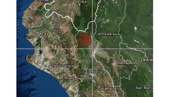 Un sismo de magnitud 4,0 se registró en la provincia de San Ignacio, en Cajamarca, la noche del miércoles a las 21:24 horas. (Foto: IGP)