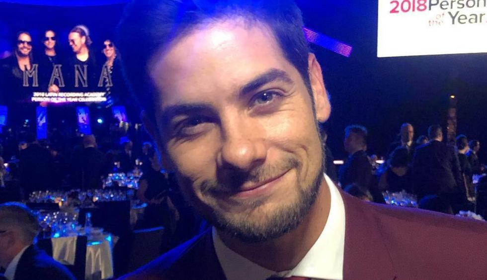 Andrés Wiese estará en los Latin Grammys (Fotos: Instagram)