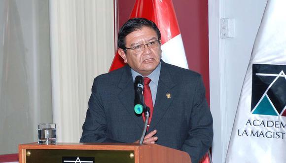 Salas Arenas es actual miembro de la Sala Penal Transitoria de la Corte Suprema.   (Foto: Difusión)