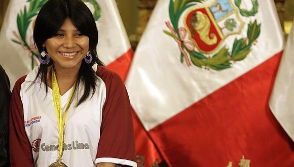 Deysi Cori se prepara para competencias mayores. (Perú21)