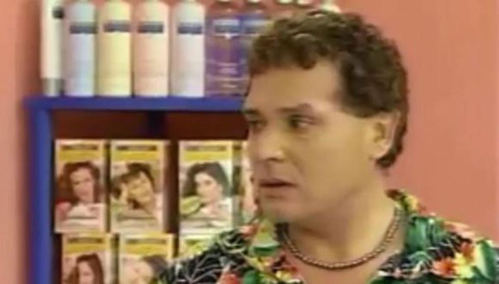"""""""Mil oficios"""" marcó una época en la televisión peruana y de la serie, muchos recuerdan a Armando, un divertido y chismoso estilista, además de mejor amigo de Normita (Foto: Panamericana TV)"""