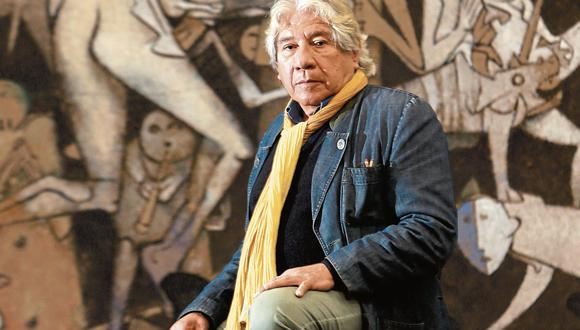 Gerardo Chávez. Gran maestro de la pintura peruana y latinoamericana. (Rolly Reyna)