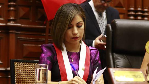 Leslye Lazo de Acción Popular. (Foto: Congreso de la República)