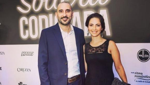 """César Ritter yCecilia Rospigliosi se casaron y tienen dos hijos. Ambos se conocieron mientras grababan """"Mil oficios"""" (Foto: César Ritter/Instagram)"""