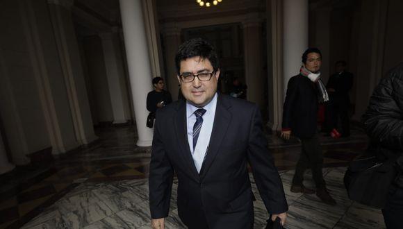 El procurador viaja a EE.UU. por dinero de Alejandro Toledo y de Gonzalo Monteverde. (Foto: Anthony Niño de Guzmán / GEC)
