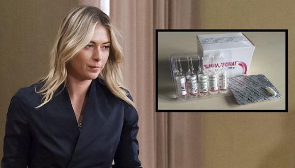 ¿Qué es el meldonium, la sustancia que puso en jaque a Maria Sharapova? (Agencias)