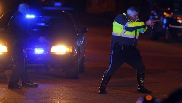 Desde ayer se registra una intensa cacería humana en Boston. (AP)