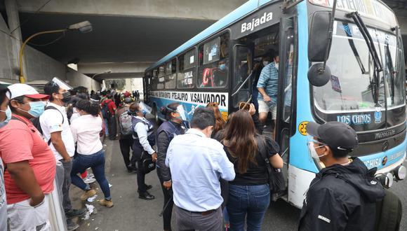 MTPE informó que habrá tolerancia de 2 horas de ingreso a trabajadores por paro de transporte. (Foto: Juan Ponce Valenzuela/GEC)