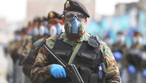 Ministerio del Interior y Policía Nacional presentaron el plan Semana Santa 2021. (Foto: GEC)