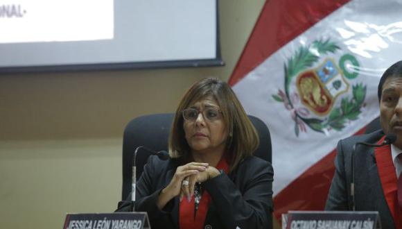 La jueza María Jéssica León Yarango, integra la Segunda Sala de Apelaciones Nacional. (Perú21)