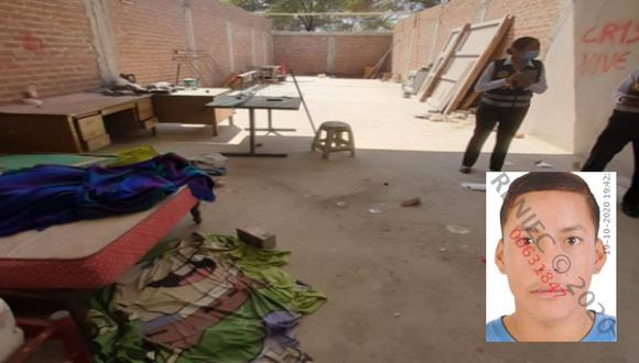 Piura: Un ciudadano venezolano asesinó con una comba a su amigo, el peruano Josué Guillermo Medina Núñez (19), por una deuda de 100 soles.