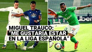 Miguel Trauco expresó su deseo de continuar su carrera en España