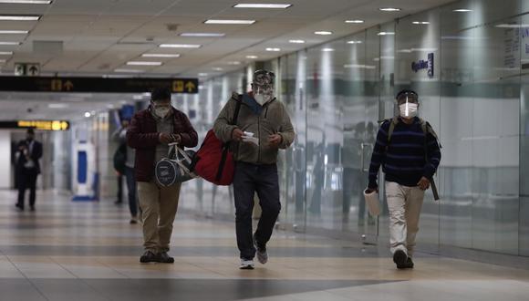 El Gobierno ha dispuesto que los pasajeros procedentes del exterior deben realizar una cuarentena obligatoria por un período de 14 días. (Foto: GEC)