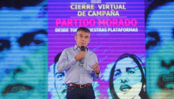 El Partido Morado estaría superando la valla para tener a varios representantes en el Congreso. (Foto: Giancarlo Ávila)